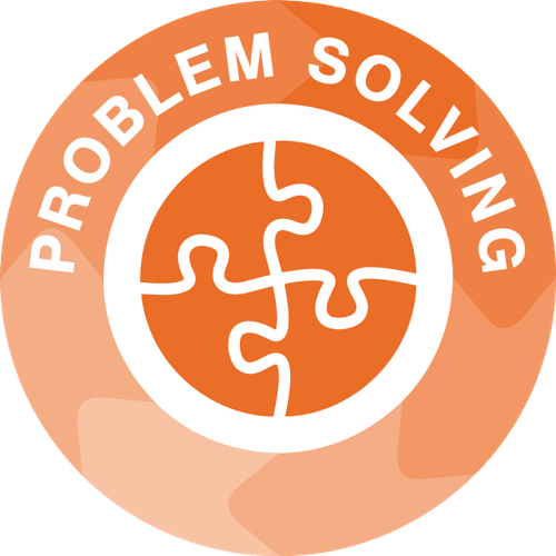 Problem solving icon